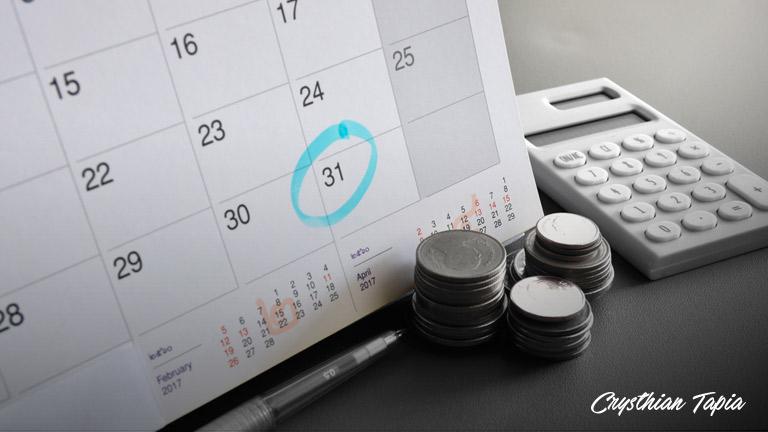 acomoda-tus-fechas-de-pago Reglas de oro para no perder dinero